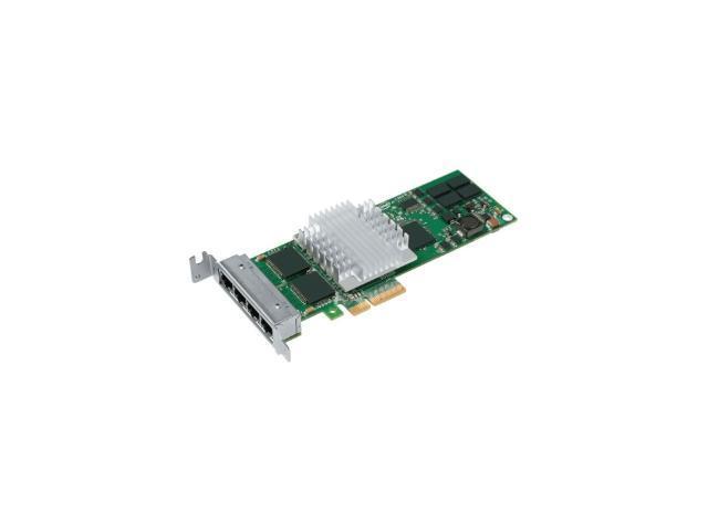 Intel EXPI9404PTLBLK 10/ 100/ 1000Mbps PCI-Express PT Quad Port Low Profile Server Adapter - OEM