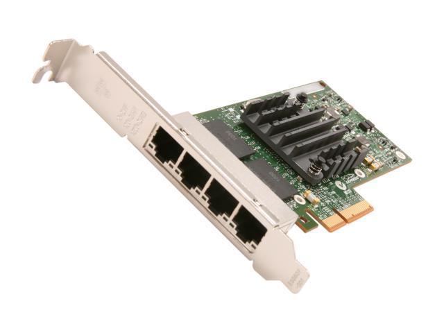 Intel E1G44HTBLK 10/ 100/ 1000Mbps PCI-Express 2.0 Server Adapter I340-T4 (Bulk Pack)