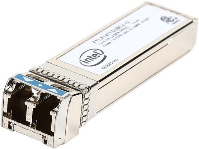 Intel E10GSFPLR 10Gbps Dual Rate 10GBASE-LR SFP+ Module