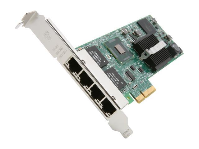 Intel E1G44ET2 10/ 100/ 1000Mbps PCI-Express Gigabit Ethernet Card
