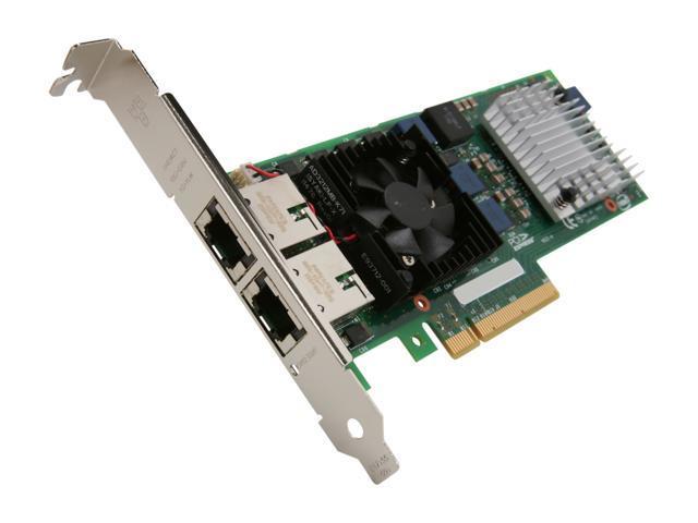 Intel E10G42BT 10Gbps PCI Express x8 X520-T2 10Gigabit Ethernet Card