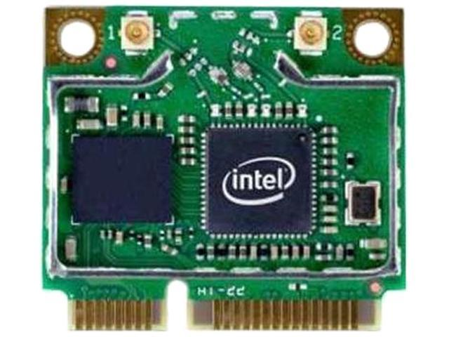 Intel Centrino 6205 IEEE 802.11 Dual Band N600 Mini PCI Express Wi-Fi Adapter, 2.4GHz 300Mbps/5GHz 300Mbps-OEM