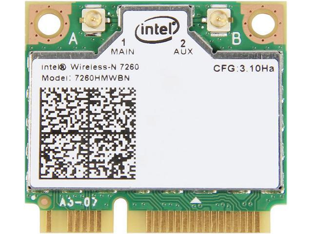 Intel 7260HMW BN IEEE 802.11 N300 Mini PCI Express plus Bluetooth 4.0 - Wi-Fi/Bluetooth Combo Adapter