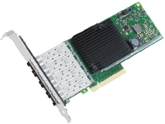Intel X710DA4FH Ethernet Converged Network Adapter Quad-Port 10GbE Low profile PCIe 3.0, x8 Quad port