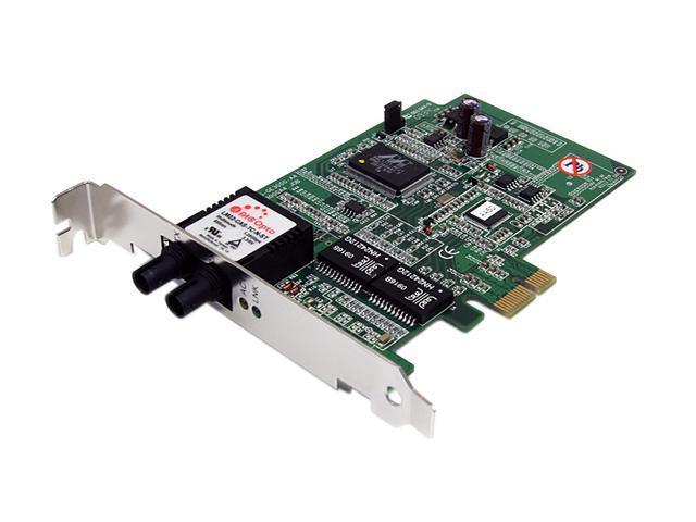 StarTech PEX1000MMST PCI-Express x1 Gigabit Ethernet Multi Mode ST Fiber Card