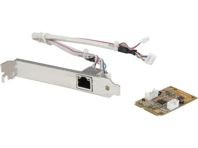 StarTech ST1000SMPEX Mini Gigabit Ethernet Network Adapter 10/ 100/ 1000Mbps mini PCI Express 1 x RJ45