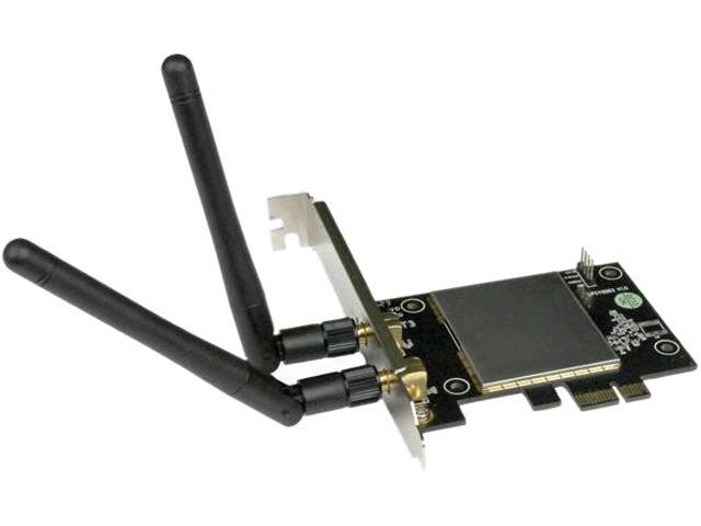 StarTech.com AC600 Wireless-AC Network Adapter - 802.11ac, PCI Express - Dual Band 2.4GHz and 5GHz Wireless Network Card