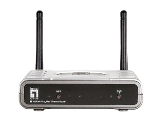 LevelOne WBR-6011 Wireless N 300Mbps Broadband Router