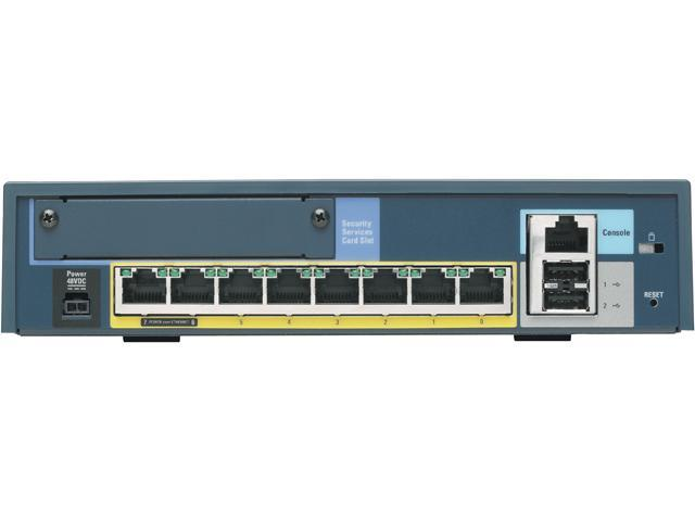 CISCO ASA5505-SSL10-K9 VPN Wired ASA 5505 Security Appliance