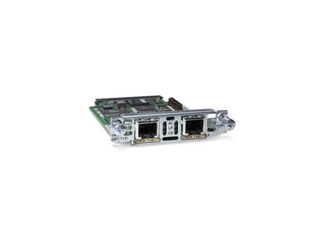 Cisco VWIC2-1MFT-T1/E1 2nd Generation 1-Port T1/E1 Multiflex Trunk Voice/WAN Interface Card