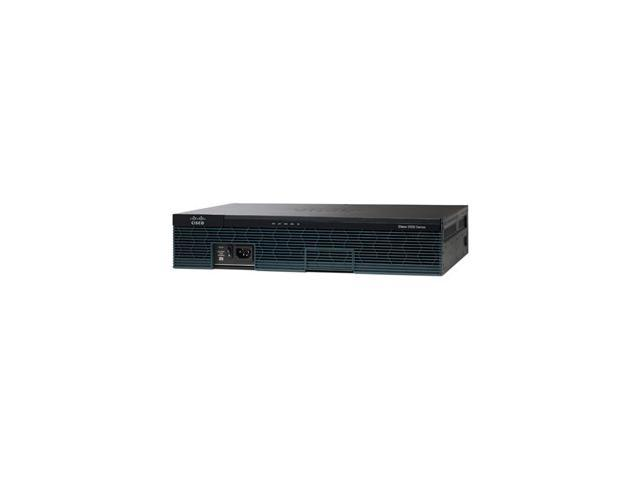 CISCO 2900 Series Router C2921-VSEC/K9 10/100/1000Mbps Integrated Services Router