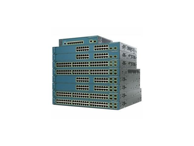 CISCO Catalyst 3560-E Series WS-C3560E-48PD-SF Switch
