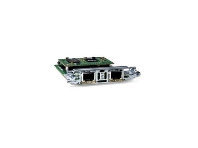 CISCO VWIC2-2MFT-T1/E1= 2-Port T1/E1 Multiflex Trunk Voice/WAN Interface Card