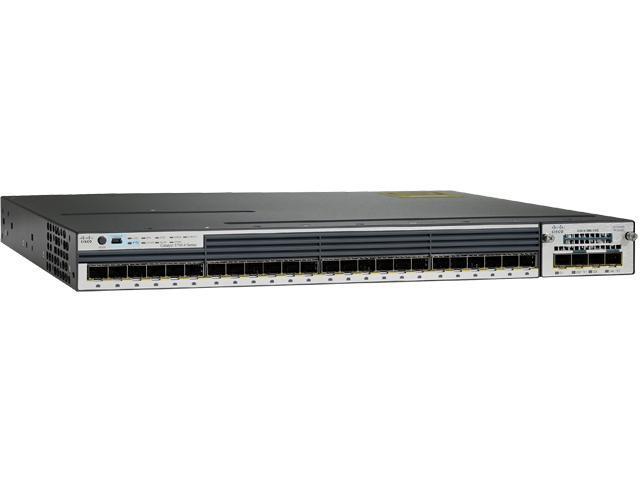 CISCO Catalyst 3750-X WS-C3750X-24T-L Managed Layer 3 Switch - 24 Port - 1 Slot