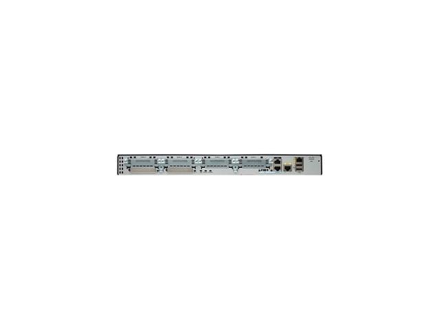 CISCO 2900 Series CISCO2901-SEC/K9 Integrated Services Router w/ Security License PAK