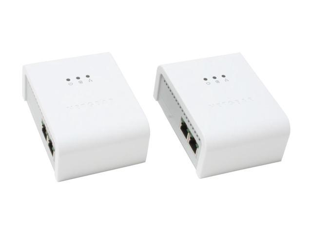NETGEAR XE104G 85Mbps Wall Plugged Ethernet Kit with 4-port Switch Up to 85Mbps