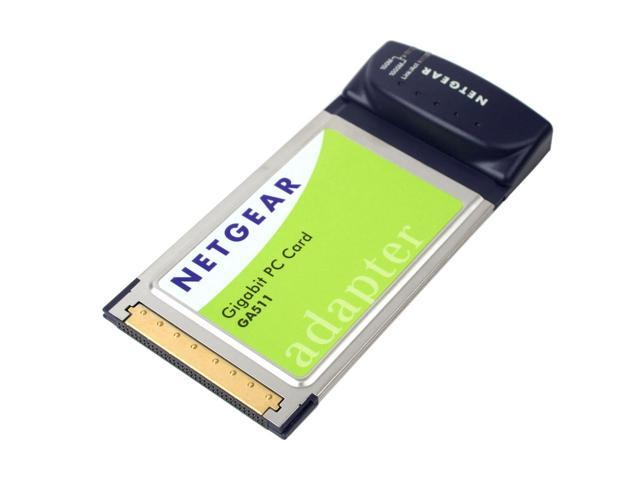 NETGEAR GA511 Gigabit PC Card with Jumbo Frame support 1 x RJ45