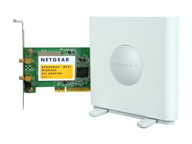 NETGEAR WN311B-100NAS PCI N300 Wireless Adapter