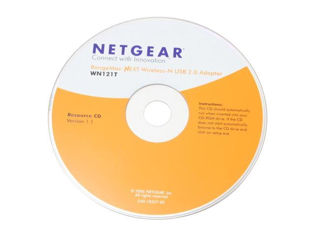 NETGEAR WN121T RangeMax Next Wireless-N Adapter IEEE 802.11b/g, IEEE 802.11n Draft USB 2.0 Up to 300Mbps Wireless Data Rates WPA2