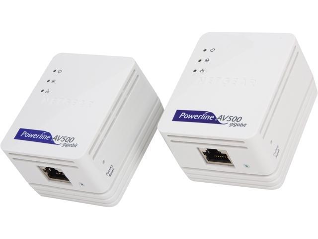NETGEAR Powerline AV500 Nano Kit (XAVB5101), up to 500Mbps