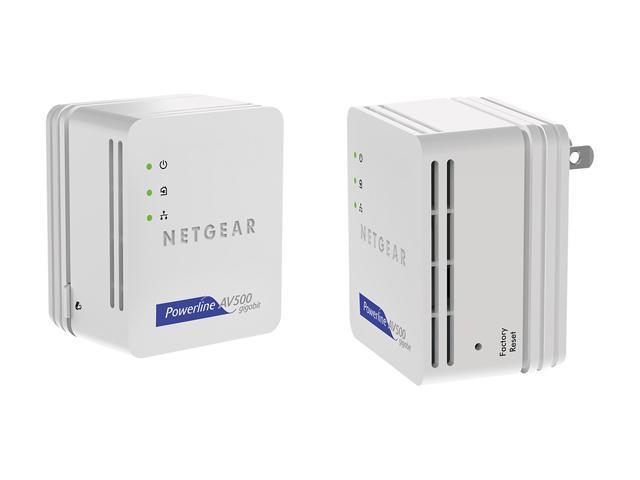 NETGEAR XAVB5101-100PAS Powerline Nano 500 Set Up to 500Mbps each