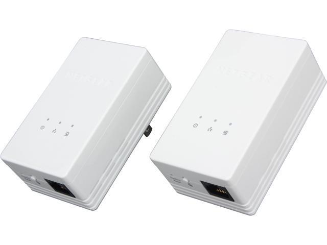 NETGEAR Powerline AV200 Mbps Mini Adapter Kit (XAVB1301), up to 200Mbps