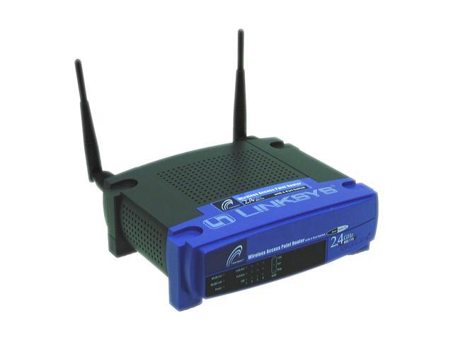 Linksys BEFW11S4 Wireless Router IEEE 802.3/3u, IEEE 802.11b