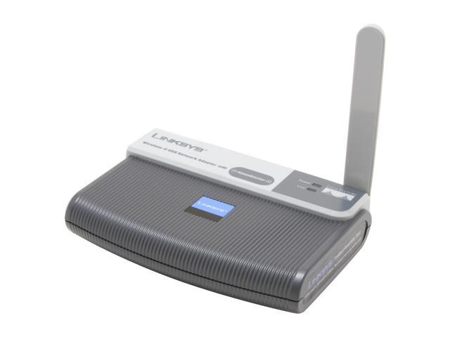 Linksys WUSB54GR Wireless-G Network Adapter with RangeBooster IEEE 802.11b/g USB 2.0 Up to 54Mbps Wireless Data Rates WPA