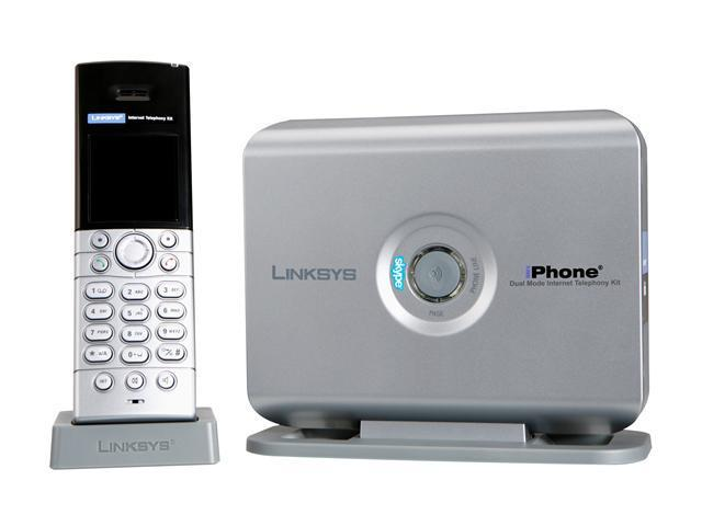 LINKSYS CIT400 Dual Mode Internet Telephony (Phone) Kit with Integrated Skype