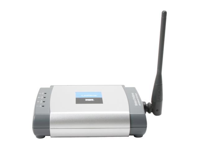 LINKSYS WPSM54G Wireless-G Print Server 802.11b / g, RJ45 USB 2.0
