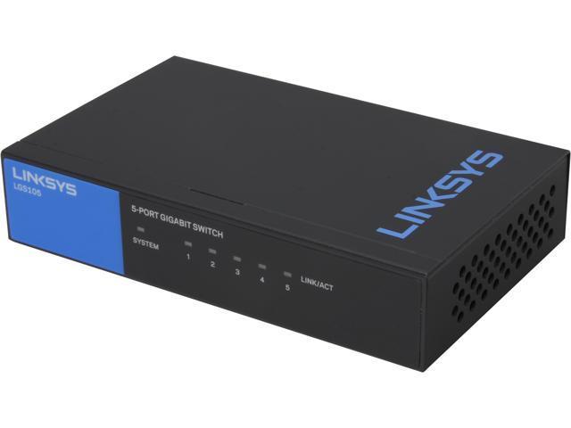 Edimax Switches Gigabit Ethernet 5port Gigabit Desktop Switch