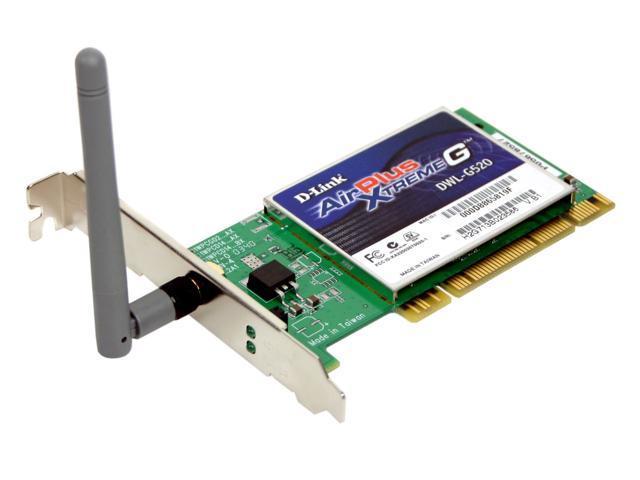 D-Link DWL-G520 32bit PCI2.2 High Speed Wireless Adapter