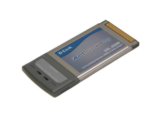 D-Link DWL-AG660 Tri-Mode Dualband Wireless CardBus Adapter