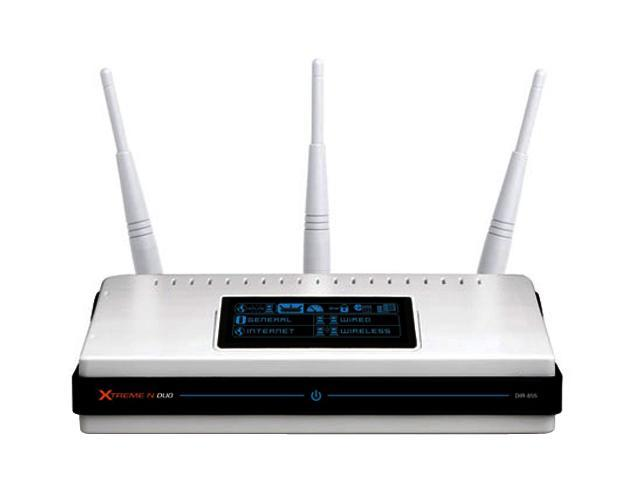 D-Link DIR-855 Xtreme N Duo Media Router