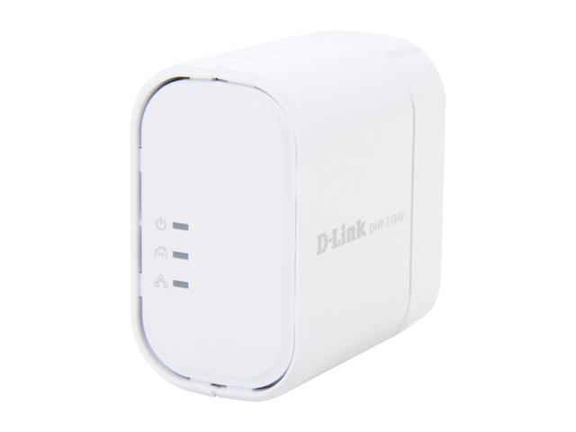 D-Link PowerLine AV Mini Adapter (DHP-310AV) Up To 200Mbps