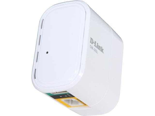 D-Link SharePort Mobile Companion (DIR-505L), Travel Router/Access Point, Wi-Fi Hot Spot, SharePort via USB, Tablet/Phone charge