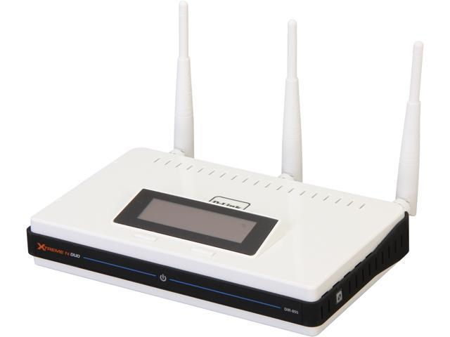 D-Link DIR-855/RE Xtreme N Duo Gigabit Media Router Manufacturer Recertified