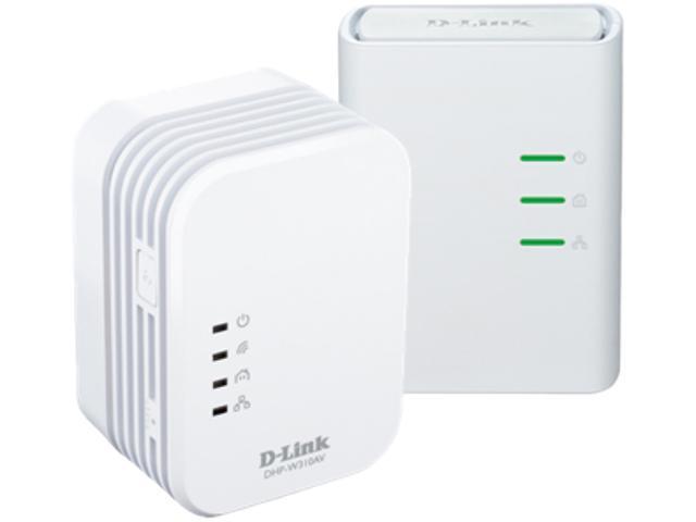 D-Link DHP-W311AV PowerLine AV 500 Wireless N Mini Adapter Starter Kit