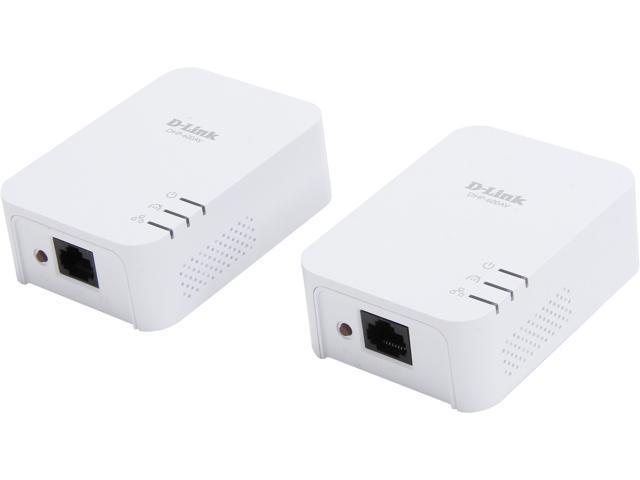 D-Link DHP-601AV PowerLine AV2 600 Gigabit Starter Kit Up to 600Mbps