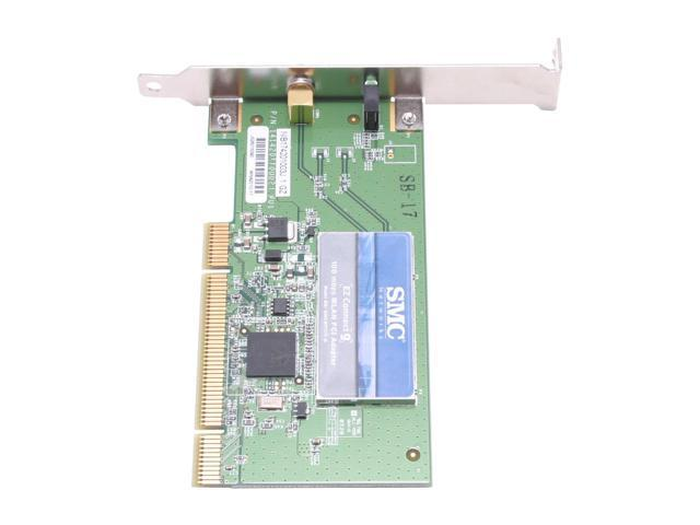 SMC LG-ERICSSON SMCWPCIT-G Wireless Adapter IEEE 802.11b/g PCI V2.2 (5V/3.3V) Up to 108Mbps Wireless Data Rates WPA