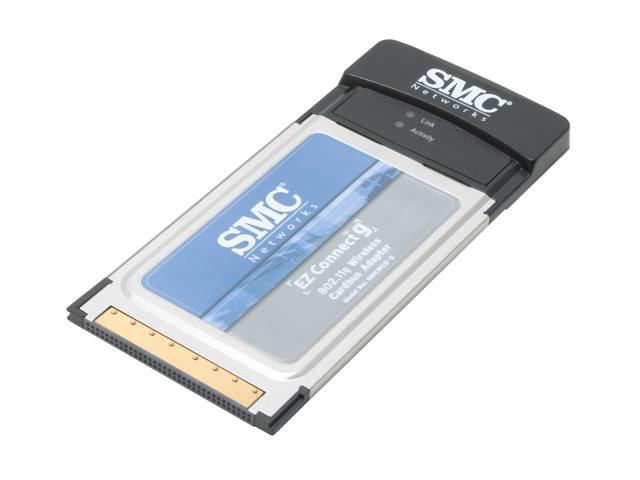 SMC LG-ERICSSON SMCWCB-G Wireless Cardbus Adapter