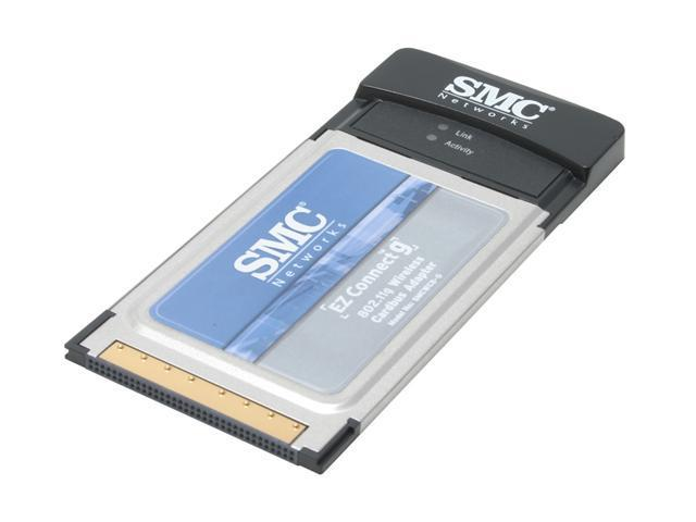 SMC LG-ERICSSON SMCWCBT-G 108Mbps Wireless Cardbus Adapter