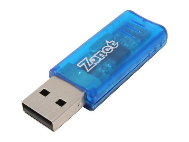 Zonet ZUB6202C Bluetooth Adapter USB1.1 and USB2.0
