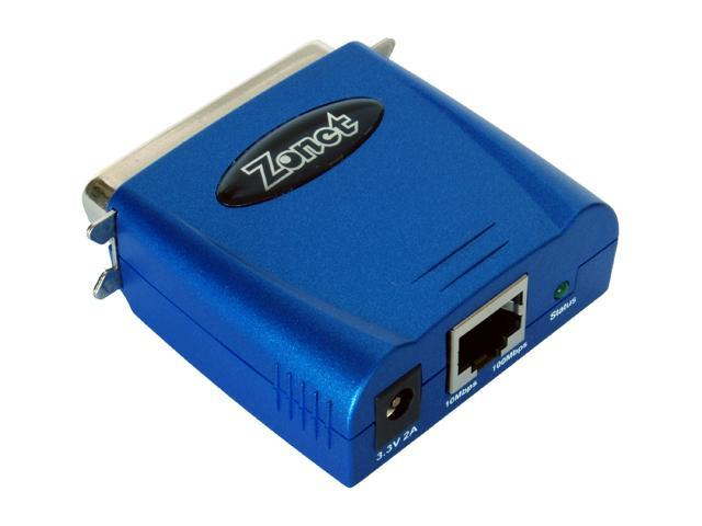 Zonet ZPS3611 10/100Mbps Parallel Print Server