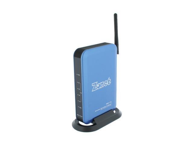 Zonet ZSR1134WE Wireless Broadband Router w/ 4pt LAN Switch IEEE 802.3/3u, IEEE 802.11b/g