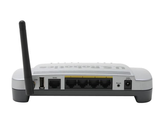 U.S. Robotics USR5461 Wireless MAXg Router with Print Server IEEE 802.11b/g