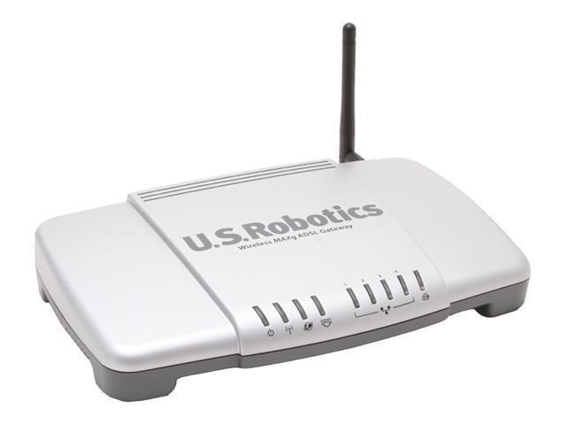 U.S. Robotics USR9108 Wireless ADSL2+ gateway IEEE 802.3/3u, IEEE 802.11b/g