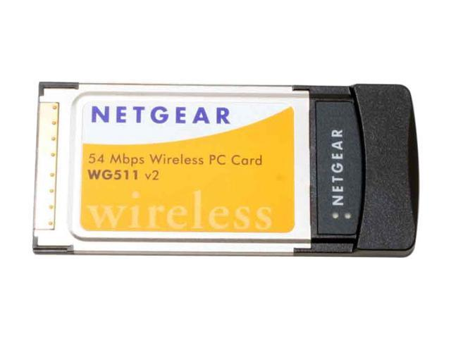 NETGEAR WG511 Wireless PC Card