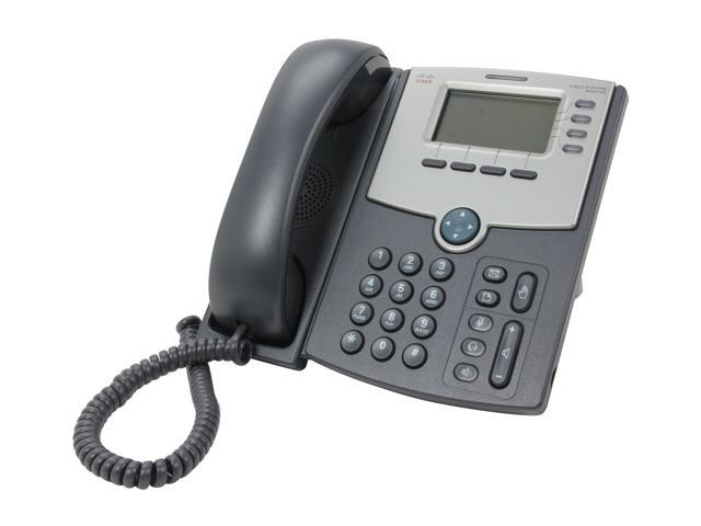 Cisco Small Business SPA514G 4-Line IP Phone with 2-Port Gigabit Ethernet Switch / PoE / LCD Display