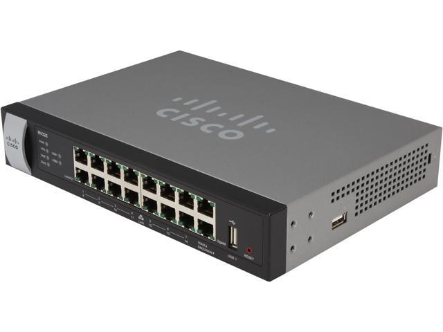 Cisco Small Business RV325-K9-NA Dual Gigabit WAN VPN Routers 40000 Simultaneous Sessions < 250Mbps